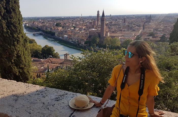 Mirador de la colina de San Pietro qué ver en Verona
