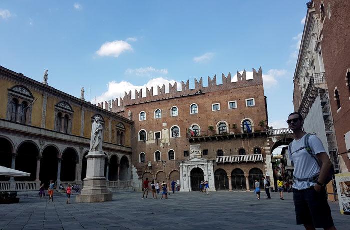 Piazza dei Signori qué ver en Verona