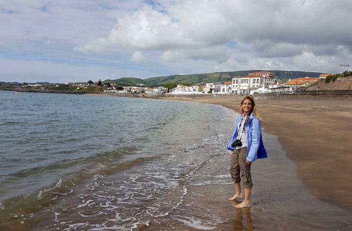 Playa de Praia da Vitória