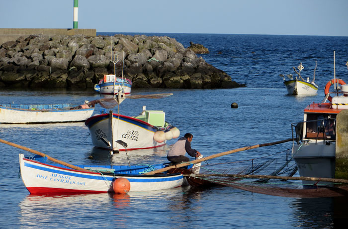 Puerto de São Mateus da Calheta