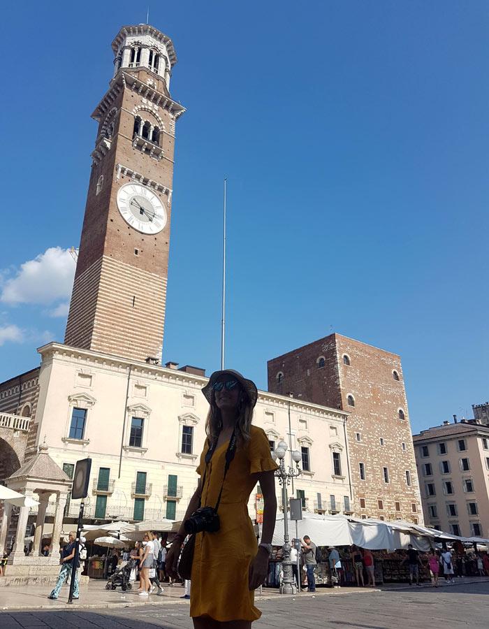 Torre de los Lamberti qué ver en Verona