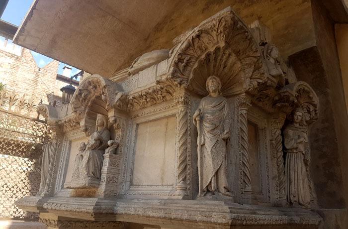 Una de las tumbas de los Scaligeri qué ver en Verona