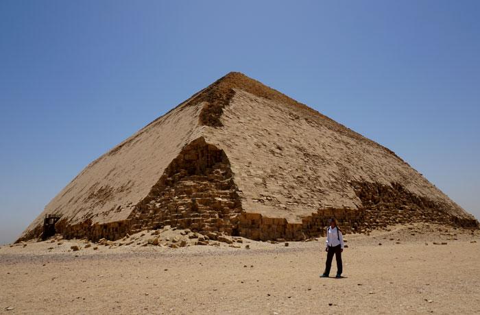 Pirámide acodada de Dahshur Egipto en una semana