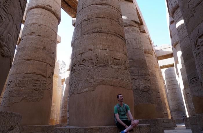 Templo del Karnak en Luxor Egipto en una semana