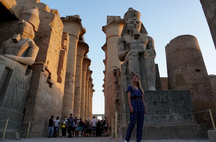 Templo de Luxor Egipto en una semana