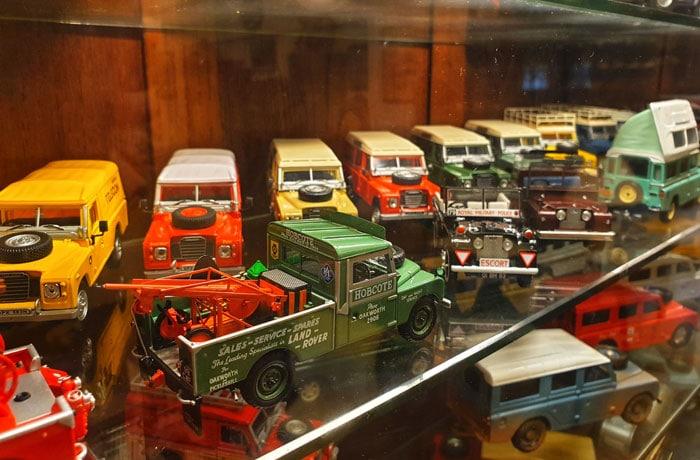 Colección de Land Rover en miniatura de Joao Paulo