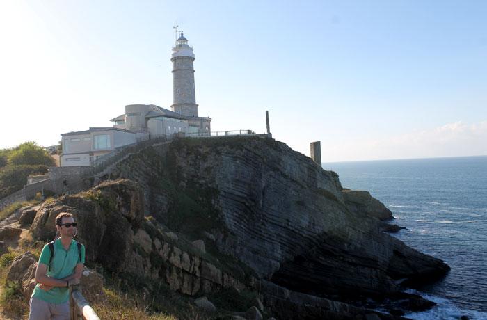 Faro de Cabo Mayor qué visitar en Santander