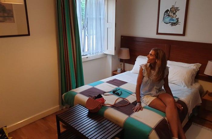 Nuestra habitación en la Casa da Ria