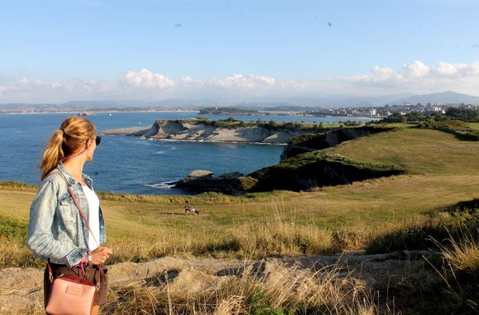 Vistas desde el Cabo Mayor qué visitar en Santander