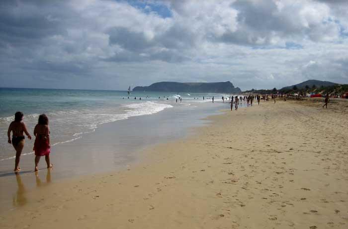 Playa de Porto Santo que hacer en Madeira