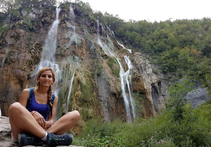 Cascada Veliki Slap, la más espectacular de los lagos de Plitvice