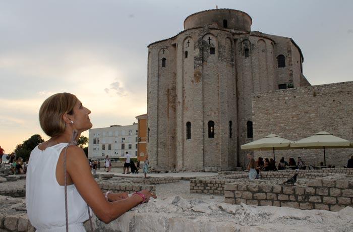 Iglesia de San Donato qué ver en Zadar