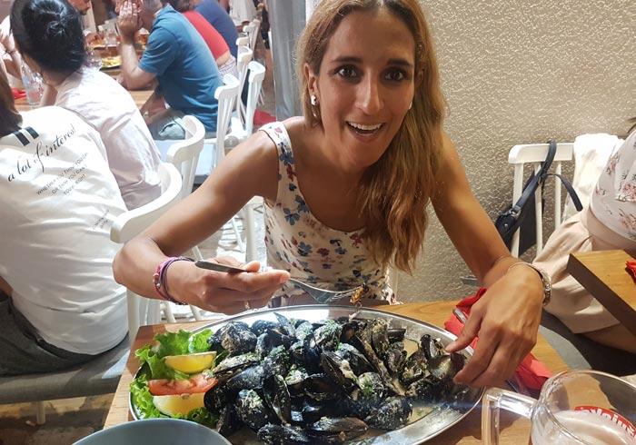 Mejillones del restaurante Eat Me comer en Zadar