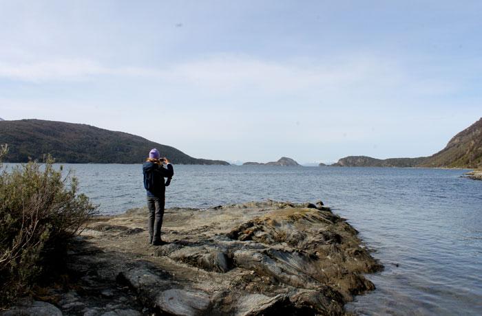 Bahía Lapatia del Parque Nacional Tierra del Fuego