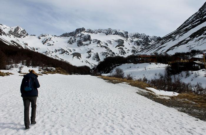 Ruta del glaciar Martial que hacer en Ushuaia