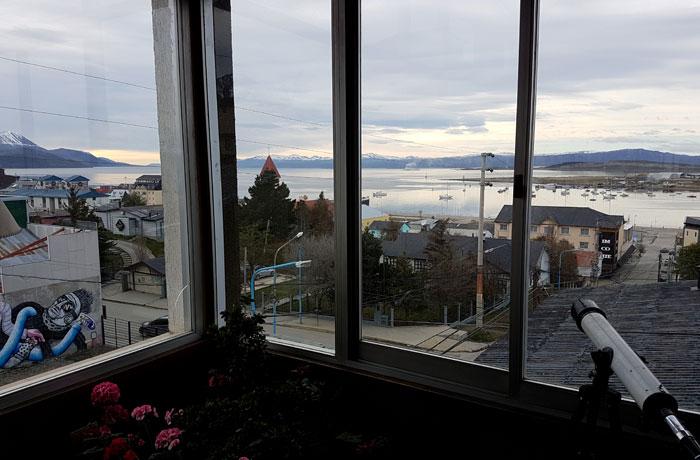 Vistas desde el hotel Mustapic