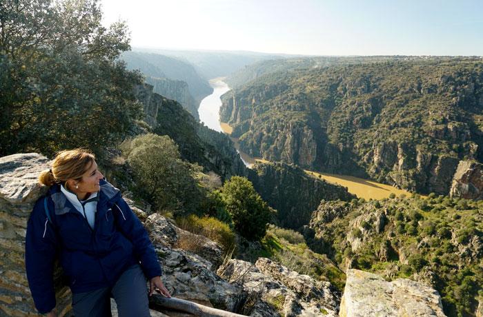 Mirador de Las Barrancas en Fariza (Zamora)