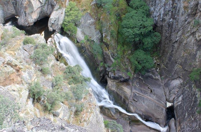 Cachón de Camaces cascadas de Salamanca