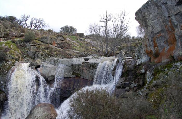Cachón de la Diabla cascadas de Salamanca
