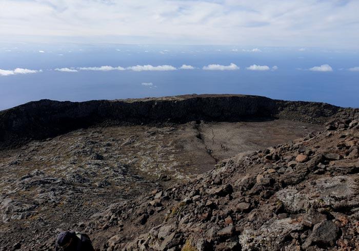 Cráter de la Montaña de Pico