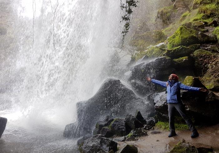 Pozo Airón por dentro cascadas de Salamanca