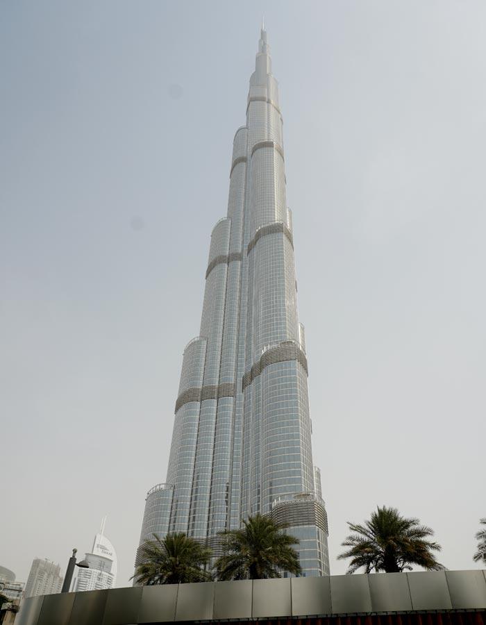 Vista del Burj Khalifa de día
