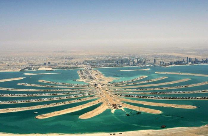 Vista aérea de la Palmera Jumeirah