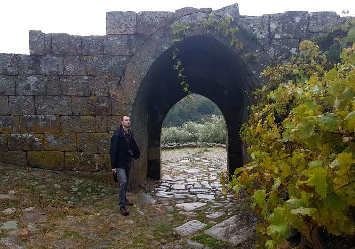 Una de las puertas de la muralla de Pinhel