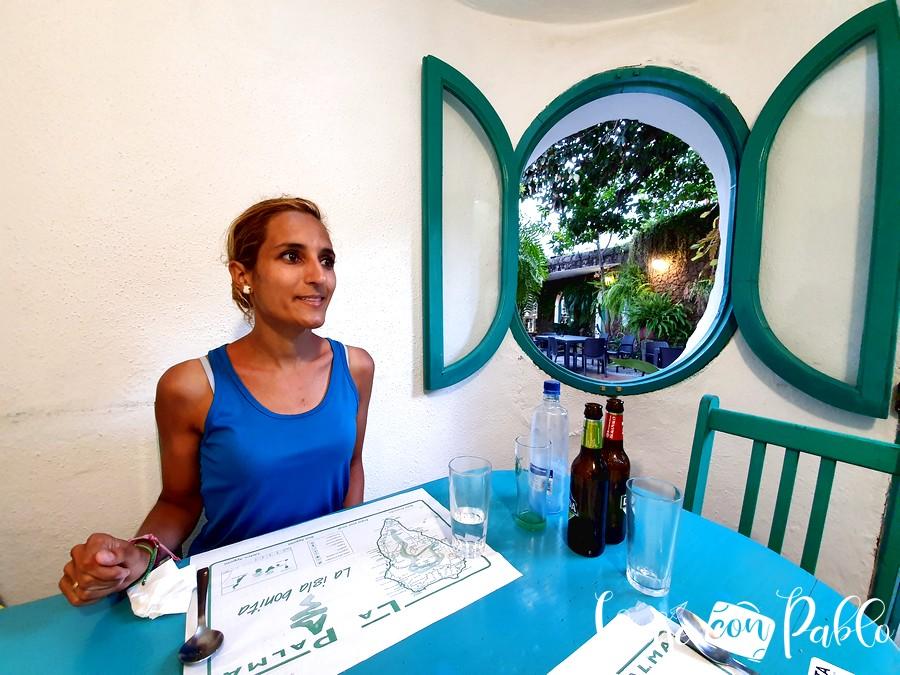 Nuestro 'camarote' del restaurante Chipi Chipi