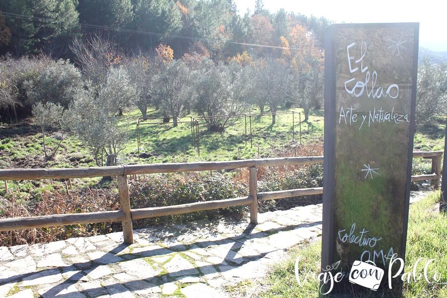 Zona de intervenciones artísticas de El Collao realizadas por el colectivo OMA